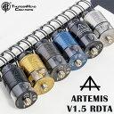 THC ARTEMIS V1.5 RDTA アルテミス Thunder Head Creations 電子タバコ vape アトマイザー RDTA 直径24mm 爆煙 シングル 810 BF スコンカー