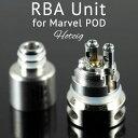 RBAユニット for Hotcig Marvel POD KIT ホットシグ マーベル 電子タバコ vape pod型 ポッド リビルド ビルド rba