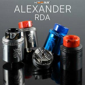 KAEESALEXANDERRDAカエースカエスキースアレクサンダーアレキサンダー電子タバコvapeアトマイザーRDAドリッパーBFスコンカー対応直径24mm