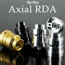 Mass Mods Axial RDA マスモッド マスモッズ アクシアル アクシャル 電子タバコ vape アトマイザー RDA ドリッパー シングル デュアル 直径23mm 25mm BF スコンカー 対応・・・