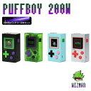 vape mod ゲーム WIZMAN PUFFBOY MOD ウィズマン パフボーイ バッテリーセット 電子タバコ vape テクニカル box mod デュアルバッテリー mod ゲームボーイ vape