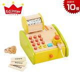 正規品 エドインター [森のくるくるピッピ!レジスター] 木のおもちゃ 木製玩具 おもちゃ レジ おもちゃ レジスター