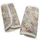 正規品 [メール便対応] ESMERALDA(エスメラルダ) オーガニックコットン・サッキングパッド アンダルシア(同柄2枚セット) よだれパッド よだれカバー エルゴ対応 ベルトカバー サッキングパッド