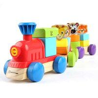 正規品ベビーアインシュタイン×ハペ[ディズカバリー・トレイン]知育玩具木のおもちゃ木製玩具Hapebabyeinstein