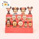 Disney KIDEA(キディア) KIDEA&BLOCK [ひなまつり] 積み木 つみき 木のおもちゃ 木製玩具 出産祝い 1歳 誕生日プレゼント