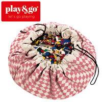 play&go(プレイアンドゴー)[2in1ストレージバッグ&プレイマットダイヤモンドピンク]ベビーマット