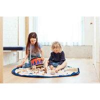 正規品play&go(プレイアンドゴー)[2in1ストレージバッグ&プレイマットサーカス]ベビーマットおもちゃ収納