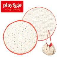正規品play&go(プレイアンドゴー)[2in1ストレージバッグ&プレイマットソフトアイコン]ベビーマットおもちゃ収納