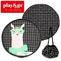 正規品play&go(プレイアンドゴー)[2in1ストレージバッグ&プレイマットソフトラマ]ベビーマットおもちゃ収納