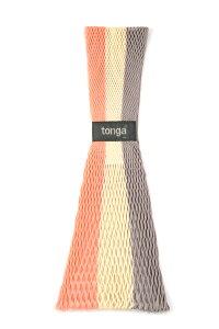 正規品 [メール便対応] tonga(トンガ)トンガ・フィット ブロッサムストライプ 抱っこひも スリング ベビーホルダー