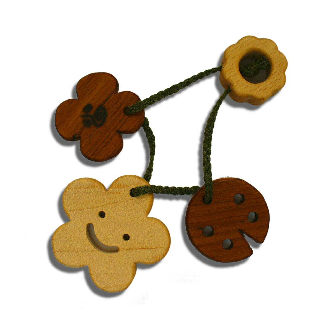 正規品 ラトル工房ブータレブー [木のはがため・はな] 歯がため 木のおもちゃ 木製玩具 [あす楽対応]