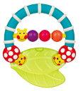 正規品 Sassy(サッシー) ラトル [カミカミ あおむし] キャタピラー・ティーザー おもちゃ ラトル 玩具