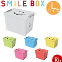 収納ボックス スマイルボックス [Lサイズ] SMILE B...