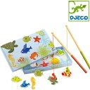 正規品 DJECO(ジェコ) [トロピカルフィッシングゲーム] [あす楽対応] おもちゃ 釣り マグネット フィッシングゲーム 木製玩具 魚釣りゲーム