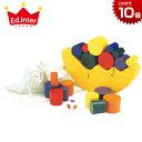 正規品 エドインター [お月さまバランスゲーム] [あす楽対応] ブロック パズル 木のおもちゃ 木製玩具 知育玩具