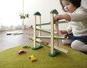正規品 エドインター [森のうんどう会] [あす楽対応] 車のおもちゃ 木のおもちゃ 木製玩具 スロープ 知育玩具 1歳 3