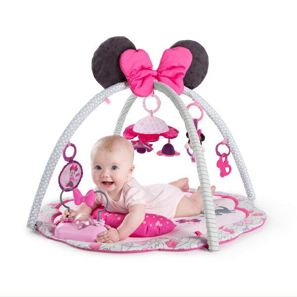正規品 Disney baby(ディズニーベビー) [ミニーマウス・ガーデンファン・アクティビティジム] [あす楽対応] ベビージム プレイジム ベビーマット プレイマット