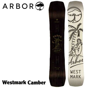 18-19 ARBOR (アーバー ) 【Westmark Camber 】キャンバー スノーボード 板 snow board  【返品種別OUTLET】