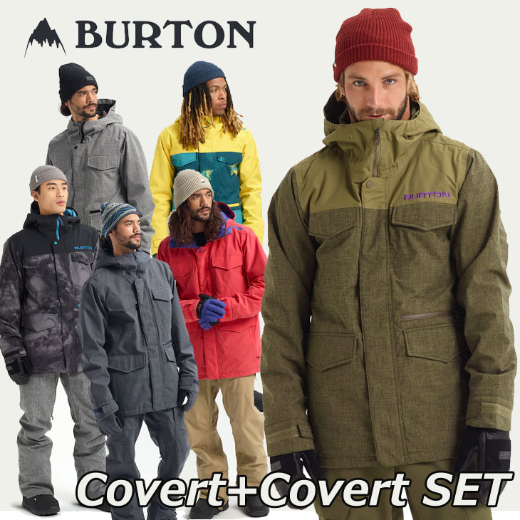 BURTON(バートン)『CovertJacket+CovertPant』