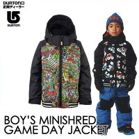��16-17BURTON�С��ȥ�KIDSSNOWWEAR�Ҷ����å����Ρ���������Marvel����ܡ�Boys'MinishredGameDayJacket�ۥ��㥱�åȡ�2-7�͡��Ļ��������������ͽ��������11������ͽ��