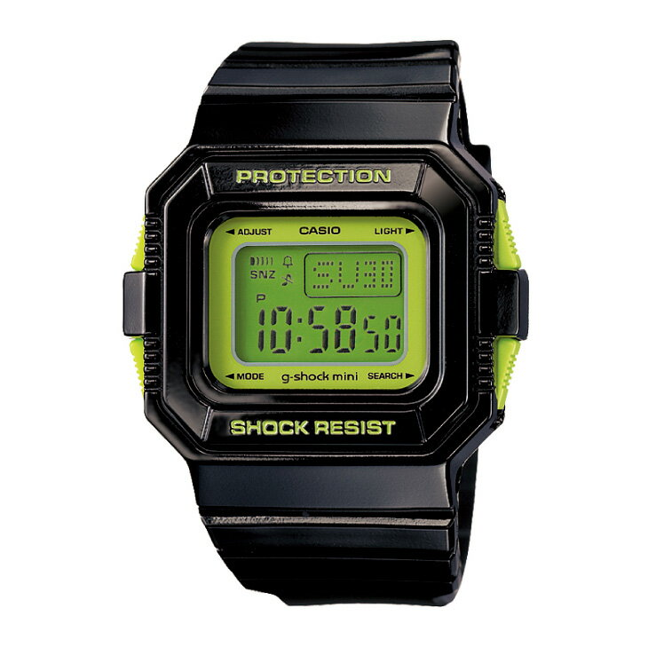 腕時計, 男女兼用腕時計  G-SHOCK MINI GMN-550-1CJR g BLACKGREEN ship1