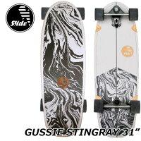 Slidesurfskateboardsスライドサーフスケートスケボーコンプリート【GUSSIESTINGRAY31】正規品ship1