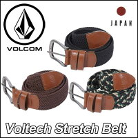 volcomJapanLimited�٥�ȥܥ륳���󥺡ڿ���ۡ�VoltechStretchBelt�ۥ��ȥ�å�VOLCOM�����륳��ڤ�����_ǯ��̵�١ۡ�����̵����