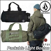 volcomJapanLimited�ܥ륳��ܥ��ȥ�ɥ��Хå���󥺡ڿ���ۡ�PackableLightBoston�ۥѥå��֥�VOLCOM�����륳��BAG�Хå�������̵���ۡڤ�����_ǯ��̵�١�6vfa