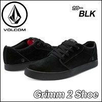 volcomボルコムスニーカーメンズ【新作】【Grimm2Shoe】カラー【BLACK】ヴォルコムシューズ靴【あす楽_年中無休】