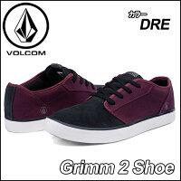 volcomボルコムスニーカーメンズ【新作】【Grimm2Shoe】カラー【DEEPRED】ヴォルコムシューズ靴【あす楽_年中無休】