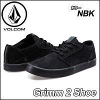 volcomボルコムスニーカーメンズ【新作】【Grimm2Shoe】カラー【NEWBLACK】ヴォルコムシューズ靴【あす楽_年中無休】