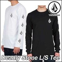 volcomボルコムtシャツロンTメンズティー【新作】【DeadlyStonesL/STee】長袖VOLCOMヴォルコム【あす楽_年中無休】【メール便不可】【送料無料】