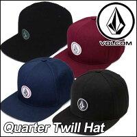 volcomキャップボルコムメンズ【新作】【QuarterTwillHat】VOLCOMCAPヴォルコム帽子【あす楽_年中無休】