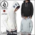 volcom Japan Limited ボルコム パーカー メンズ 【新作】【Letter To Head Pullover 】 長袖 フリース フードVOLCOM ヴォルコム 【あす楽_年中無休】【返品種別SALE】