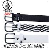 volcom ベルト ボルコム メンズ JapanLimited 【Clone Pu 2 Belt 】 メール便不可