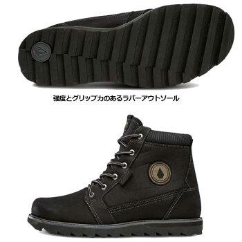 volcomボルコムスニーカーメンズ【HerringtonGTX】カラー【BLACK】シューズ靴ブーツ【あす楽_年中無休】