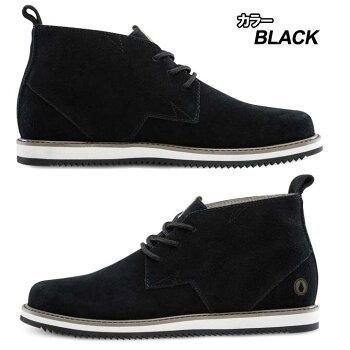 volcomボルコムスニーカーメンズ【DelCoastaSuede】カラー【BLACK】シューズ靴【あす楽_年中無休】
