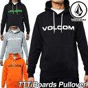 VOLCOM ボルコム パーカー メンズ 【TTT Boards Pu...