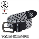 volcom ベルト ボルコム メンズ JapanLimited 【Voltech Strech Belt 】 メール便不可