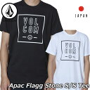 volcom ボルコム tシャツ Apac Flagg Stone S/S Tee メンズ Japan半袖 AF5119G2 2019 春 夏 新作 【返品種別OUTLET】