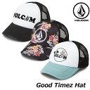 volcom ボルコム キャップ レディース Good Timez Hat E5511900 【返品種別OUTLET】