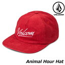 volcom ボルコム キャップ レディース Animal Hour Hat E5511903 【返品種別OUTLET】