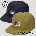 VOLCOM ボルコム キャップ CAP メンズ Division Hat D5541904【返品種別OUTLET】