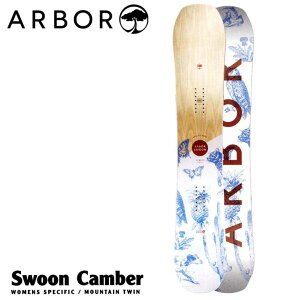 18-19 ARBOR (アーバー ) 【Swoon Camber 】 キャンバー レディース スノーボード 板 snow board  【返品種別OUTLET】