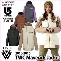 ��15-16BURTON�С��ȥ�WOMENSWEAR���Ρ��ܡ��ɥ���������THEWHITECOLLECTION�ۡ�TWCMaverickJacket�ۥ��㥱�å����������ʡ�����̵����ͽ��������10������ͽ��