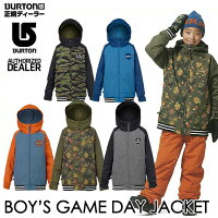 ��16-17BURTON�С��ȥ�KIDSSNOWWEAR�Ҷ����å����Ρ�����������BOY'SGAMEDAYJACKET�ۥ��㥱�åȡ�7-15�͡۾��������������������ͽ��������11������ͽ��