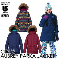��16-17BURTON�С��ȥ�KIDSSNOWWEAR�Ҷ����å����Ρ�����������GIRLS'AUBREYPARKAJACKET�ۥ��㥱�åȡ�7-15�͡۾��������������������ͽ��������11������ͽ��