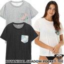 ROXY ロキシー ラッシュガード ラッシュ Tシャツ BOTANICAL SHADOW POCKET TEE (RLY192016) 2019春夏【返品種別OUTLET】