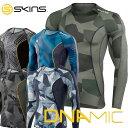 スキンズ メンズ ロングスリーブトップ SKINS A200 DNAMIC CORE メンズ ロングスリーブ 限定カラー【正規品】 コンプレッション 【返品種別OUTLET】