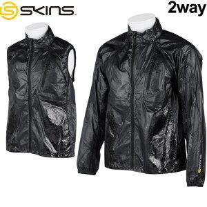 スキンズ skins  トレーニングウェア ウィンドジャケット Synchro (シンクロ ) メンズ 【SRS5502】【メール便可】【返品種別OUTLET】